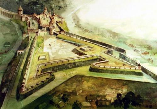 Kamianets-Podilsky Castle