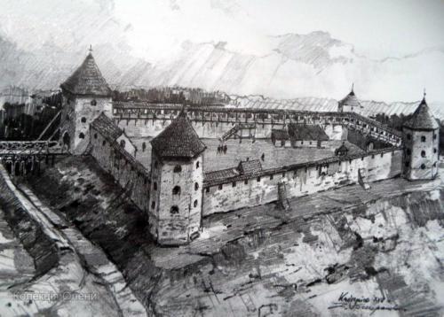 Kudryntsi Castle-Fortress